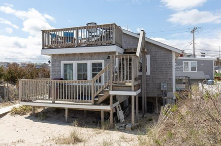 Manomet, White Horse Beach Manomet vacation rental - Lounging and barbecuing off the deck enjoying ocean breezes