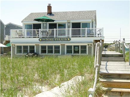 East Sandwich Cape Cod vacation rental - View from walkway to beach