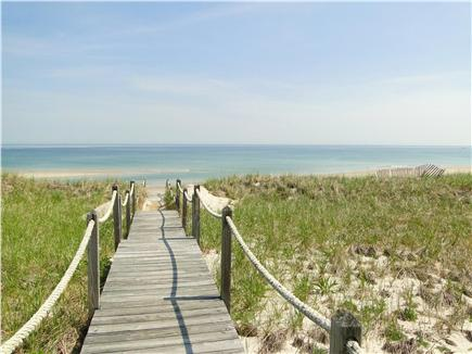 East Sandwich Cape Cod vacation rental - Walkway to your own private beach