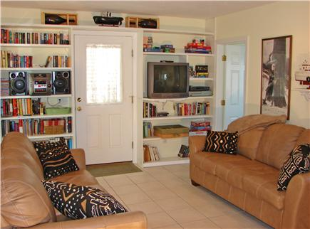 East Sandwich Cape Cod vacation rental - Sit with a book, play a game, listen to music in the living room