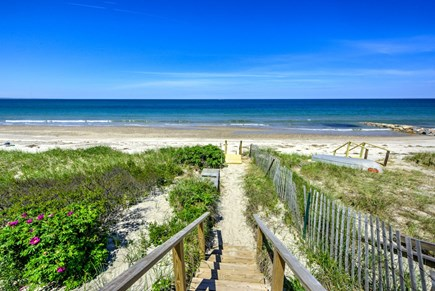 East Sandwich Cape Cod vacation rental - Boardwalk access to the beach