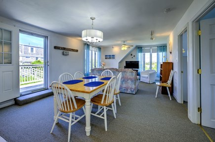 East Sandwich Cape Cod vacation rental - Looking from Dining area back towards living area