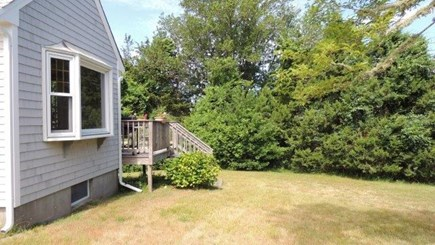Eastham Cape Cod vacation rental - Yard view