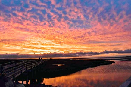 South yarmouth Cape Cod vacation rental - Be sure to take the 13 minute ride to Grays boardwalk for sunsets