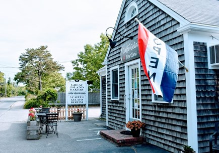 South yarmouth Cape Cod vacation rental - Bakery and gelato just walking distance from the house!