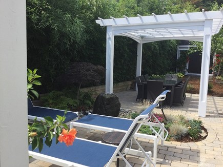 Provincetown, Cape 50 Cape Cod vacation rental - Seating area and outdoor eating area