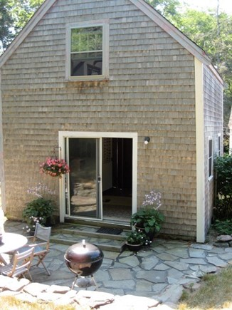Wellfleet Cape Cod vacation rental - Welcome - nice patio with charcoal grill