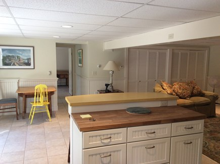 Eastham Cape Cod vacation rental - Entering the kitchen area from the utility room