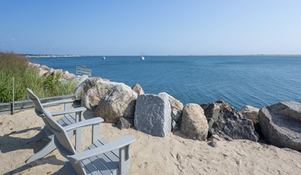 Chatham Cape Cod vacation rental - Private deeded area, which is perfect for relaxing on the water.