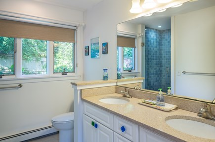 Chatham Cape Cod vacation rental - Another great guest bathroom.