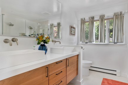 Chatham Cape Cod vacation rental - Large master bathroom.