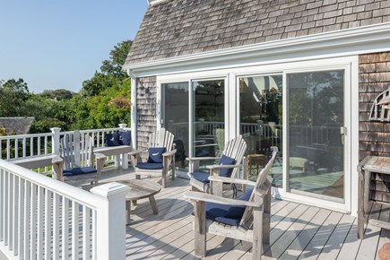Chatham Cape Cod vacation rental - Sun filled front deck with plenty of room to relax.