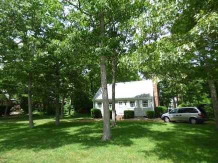 Dennis Cape Cod vacation rental - Front of house with large yard