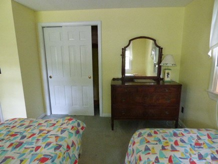 Dennis Cape Cod vacation rental - Bedroom with 3 twin beds