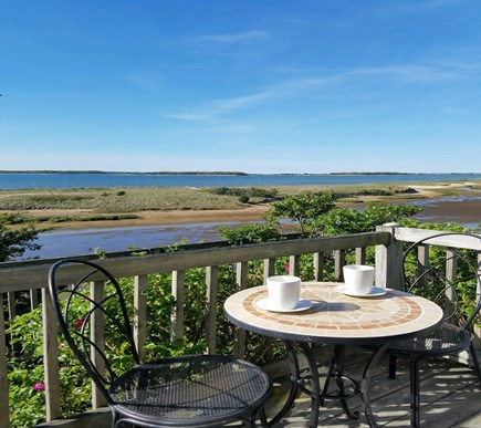 South Yarmouth Cape Cod vacation rental - Breakfast with a view