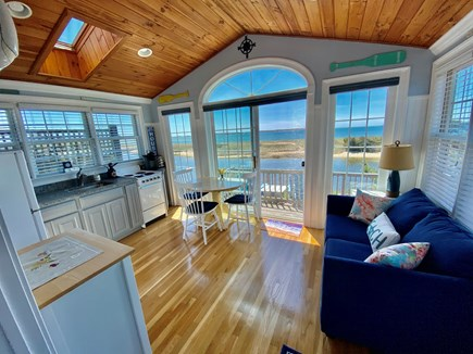 West Yarmouth Cape Cod vacation rental - Dine overlooking the water