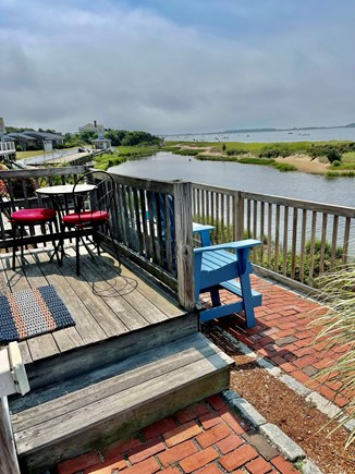 West Yarmouth Cape Cod vacation rental - Enjoy sitting and relaxing overlooking the Bay!