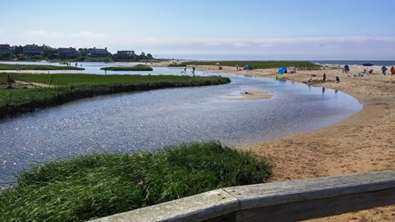 West Chatham Cape Cod vacation rental - Family favorite warm water Ridgevale Beach just over 1/2 mile