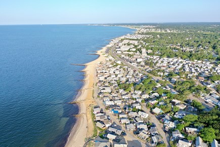 Dennis Port Cape Cod vacation rental - Bird's eye view of Nantucket Sound Beaches about 1/2 mile away