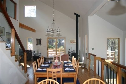 Wellfleet Cape Cod vacation rental - Kitchen and dining room