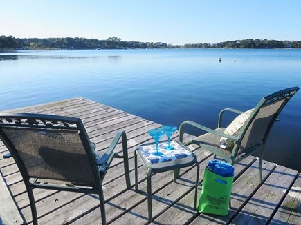 North Chatham Cape Cod vacation rental - View while you relax on the dock