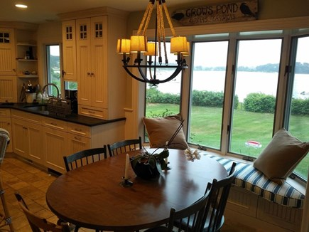 North Chatham Cape Cod vacation rental - View outside from the breakfast nook