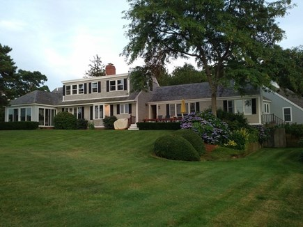 North Chatham Cape Cod vacation rental - View of the house from the expansive lawn