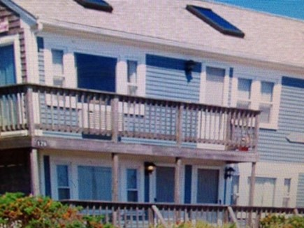 Dennisport Cape Cod vacation rental - Exterior, Unit 5 is the top, left unit.