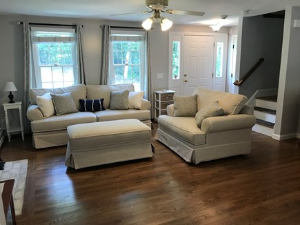 Brewster Cape Cod vacation rental - Main living room with plenty of seating and open floor plan