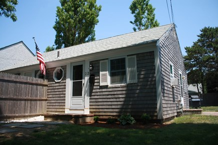 West Yarmouth Cape Cod vacation rental - Front of Duplex