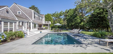 Chatham Cape Cod vacation rental - Amazing new blues tone patio, pool, and deck.