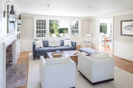 Chatham Cape Cod vacation rental - Cozy living room