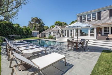 Chatham Cape Cod vacation rental - Plenty of space to relax by the pool.