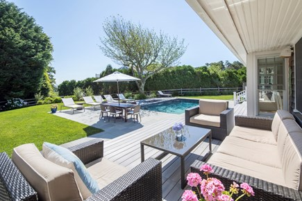 Chatham Cape Cod vacation rental - Relax with ocean views in the background.