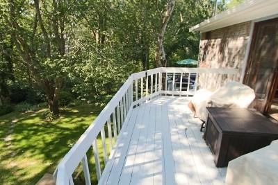 Wellfleet Cape Cod vacation rental - Deck off Master Bedroom