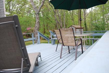 Wellfleet Cape Cod vacation rental - Deck off the kitchen