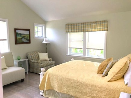 Hyannis Cape Cod vacation rental - Upper-level master with walk-in closet, en-suite bath and TV