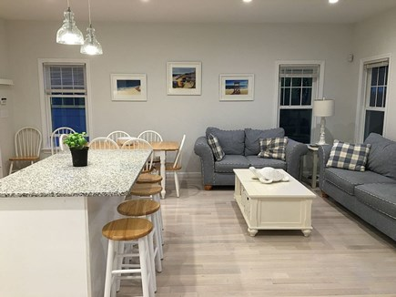Hyannis Cape Cod vacation rental - Open concept floor plan with dining seating for 10