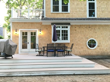 Hyannis Cape Cod vacation rental - Gas grill and patio dining