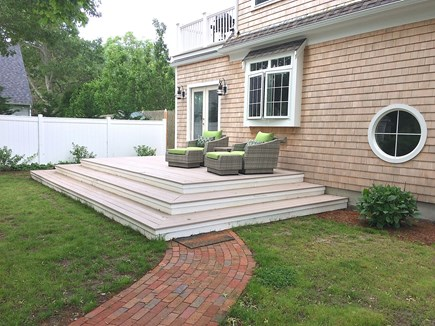 Hyannis Cape Cod vacation rental - Outdoor living, relaxing and playing spaces