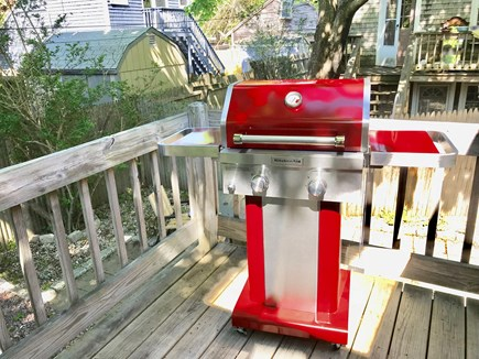 Hyannis Cape Cod vacation rental - Grill in private backyard