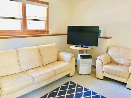Hyannis Cape Cod vacation rental - Lower level seating area