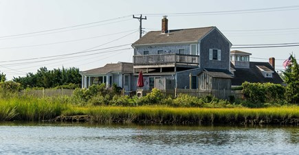 Centerville Centerville vacation rental - Backyard has river access and ocean across street