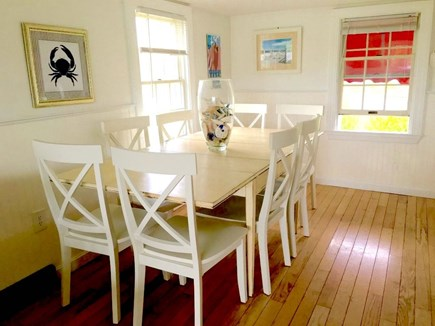 Centerville Cape Cod vacation rental - Dining area seats 8 with 2 more additional breakfast bar seats
