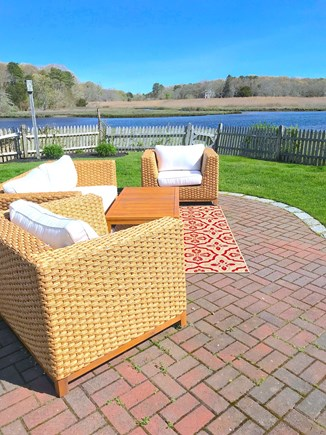 Centerville Cape Cod vacation rental - Outdoor living room on the water