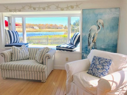 Centerville Centerville vacation rental - Window seat overlooking water and bird sanctuary