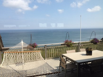 South Wellfleet on the Ocean Cape Cod vacation rental - Ocean view deck