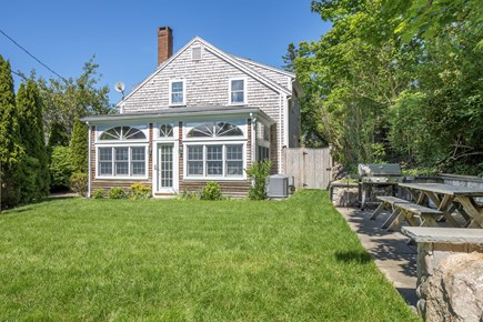 Chatham Cape Cod vacation rental - Large and comfortable yard for grilling and lawn games.