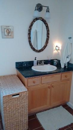 Wellfleet Cape Cod vacation rental - Downstairs full bath, same as upstairs bathl