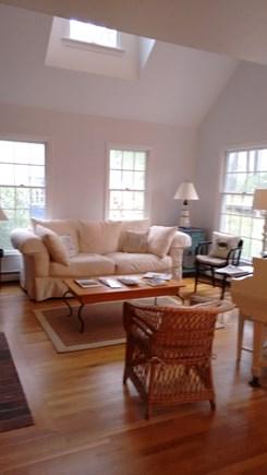 Wellfleet Cape Cod vacation rental - Living room of main house